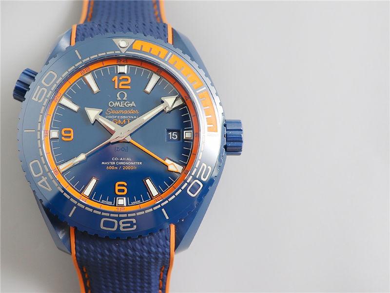 VS厂欧米茄海马600碧海之蓝陶瓷表_复刻表测评-第5张
