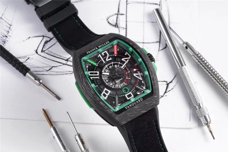 TW厂法穆兰Vanguard Racing镂空腕表做工品质如何_复刻表测评-第4张