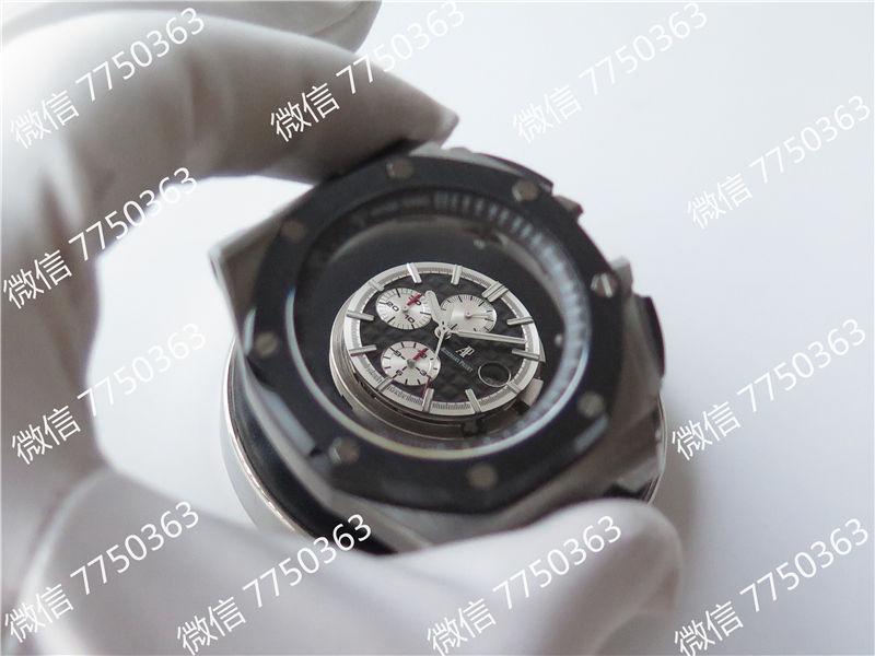 JF厂爱彼皇家橡树离岸型系列AP26400熊猫眼复刻表拆解测评-第29张