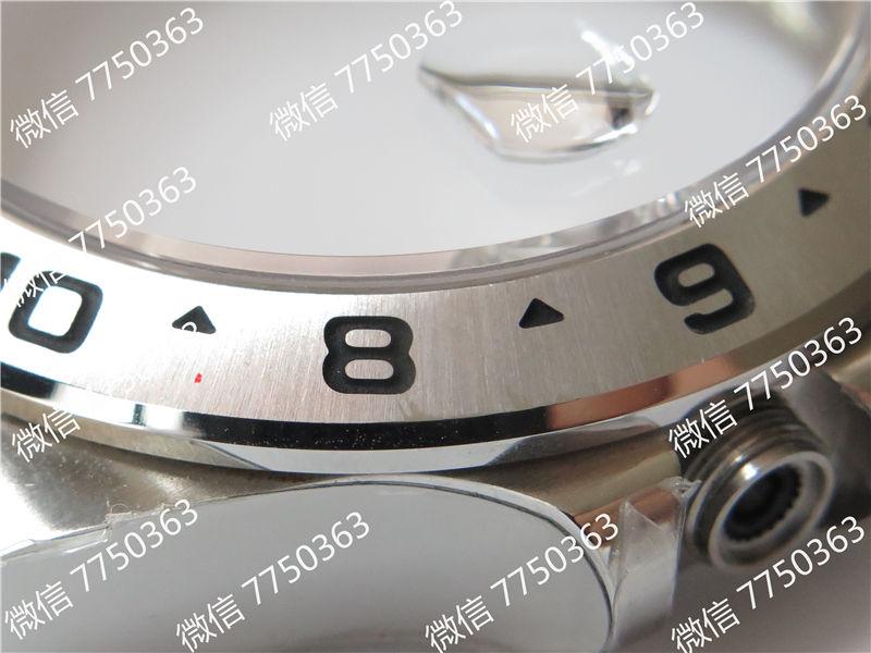 GM厂劳力士探险家Ⅱ黑色面3187机芯216570-77210复刻表拆解测评-第11张