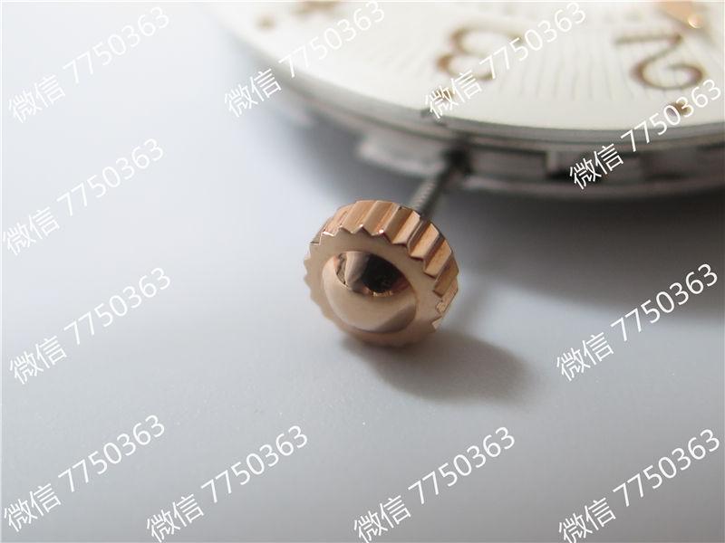 ZF厂积家约会3442440白色面玫瑰金壳复刻表拆解测评