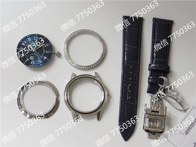 ZF厂积家约会3468480蓝色面钢壳复刻表拆解测评