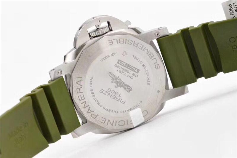 VS厂沛纳海pam1055绿海魂42mm_复刻表测评-第8张