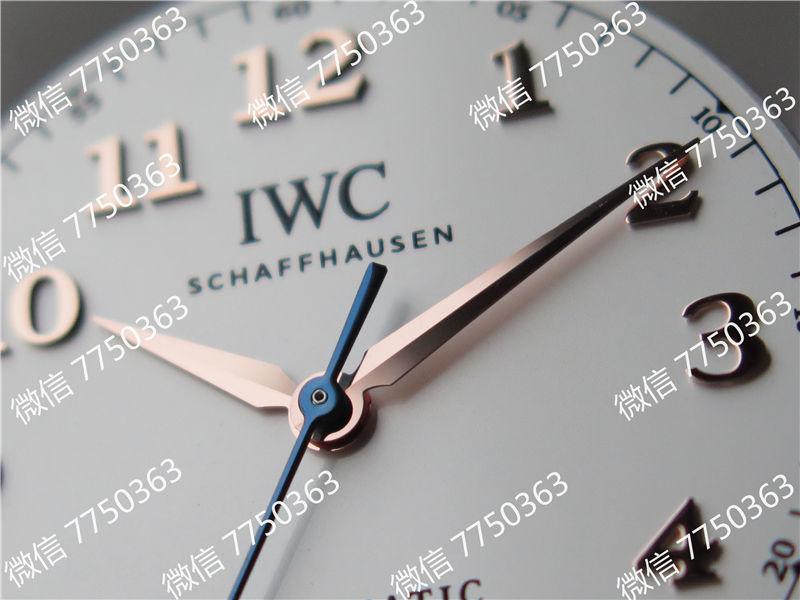 TW厂万国达文西系列三针皮表带款复刻表拆解测评-第21张