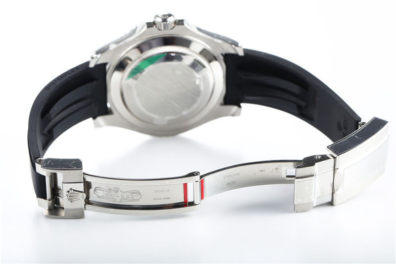 AR厂劳力士游艇钢壳红针限量款116655_复刻表测评