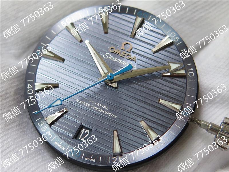 VS厂欧米茄海马150米浅蓝色面蓝色秒针复刻表拆解测评-第3张