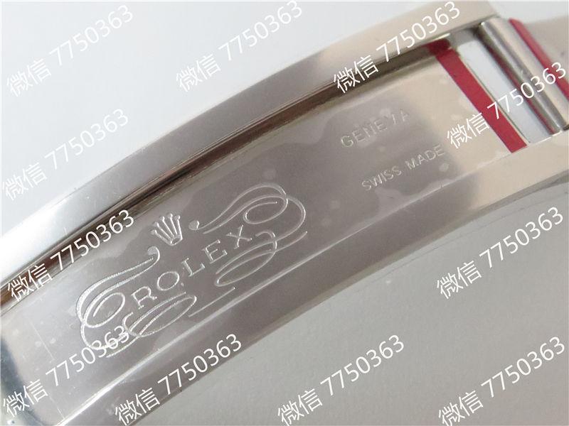 GM厂劳力士格林尼治红蓝圈116719三珠链3186机芯复刻表拆解测评-第18张