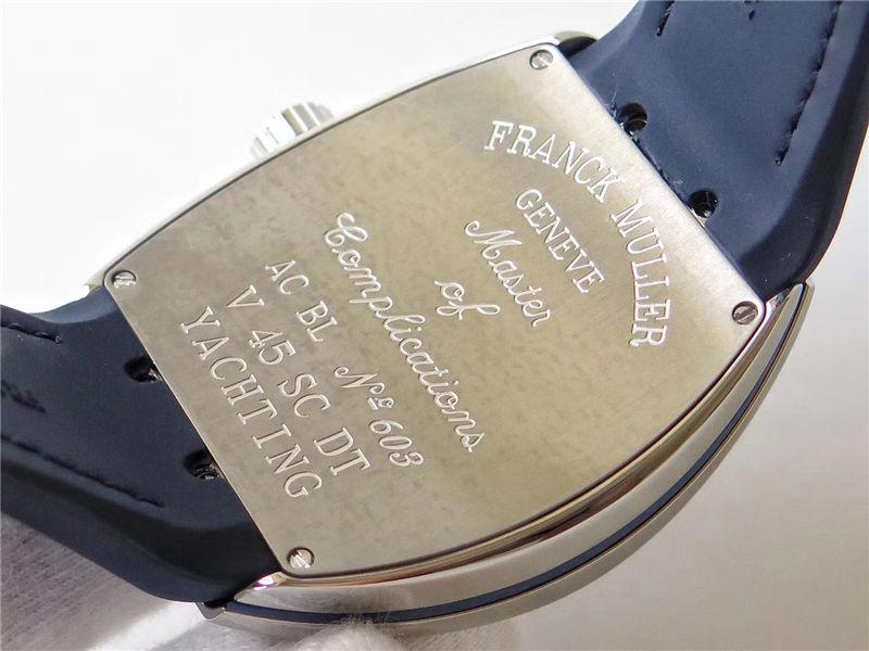 ABF厂法兰克穆勒v45蓝游艇_复刻表测评-第6张