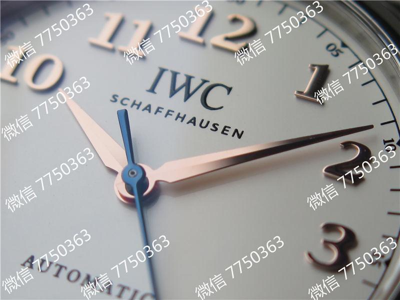 TW厂万国达文西系列三针皮表带款复刻表拆解测评-第5张