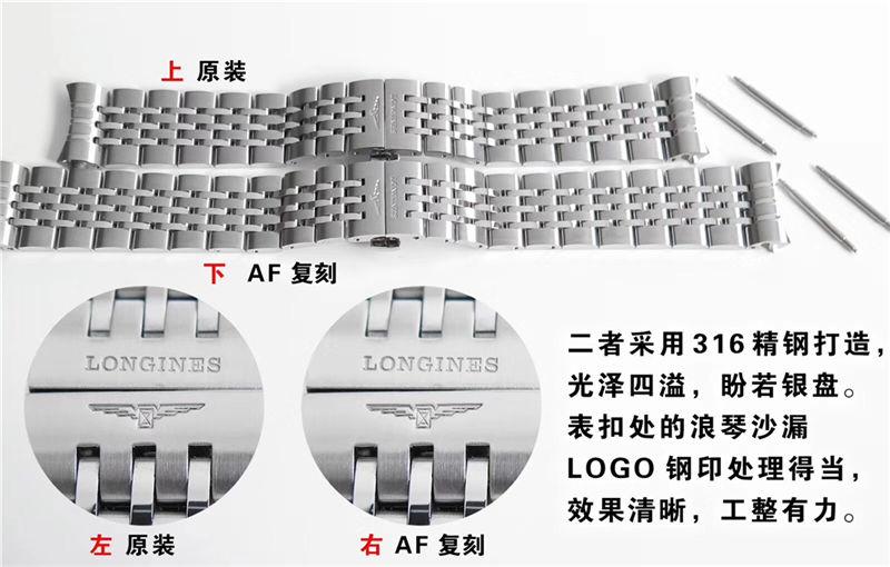 AF厂浪琴制表传统开创者_复刻表与正品对比测评-第8张