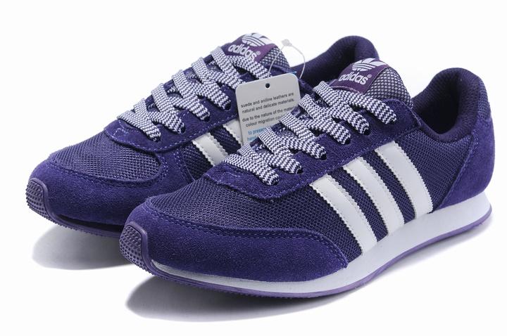 2011春夏新款阿迪达斯女鞋adidas运动鞋 经典桃红色 透气