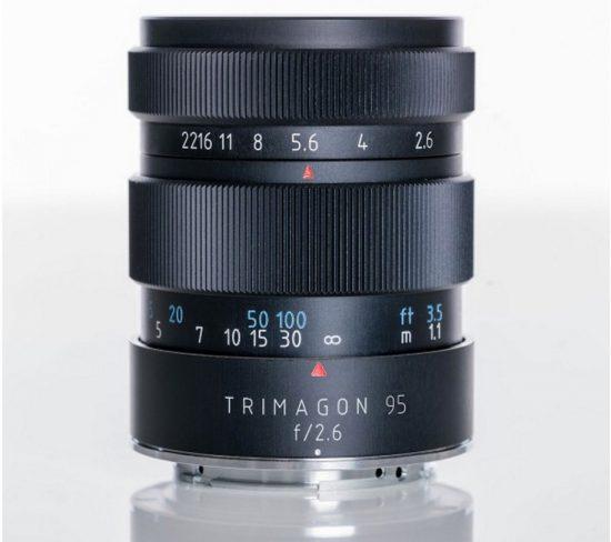 梅耶发布一枚Trimagon 95mm f2.6人像镜头