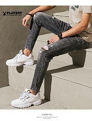 JKQM-2220-1 新款潮流时尚港风牛仔裤 分销供货价103元 建议最低零售价198元