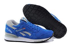 Reebok 锐步 男女 GL6000 复古跑步鞋 波斯蓝 M42932