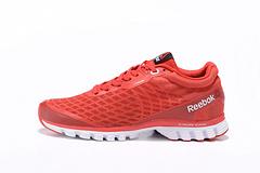 Reebok锐步2016跑步系列透气车缝线男女复古跑步鞋  红白  37----45