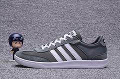 ADIDAS阿迪达斯运动休闲2017CROSS COURT男子休闲鞋 灰白