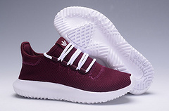 adidas Originals Tubular Shadow平民小椰子出货了 酒红色 36-44