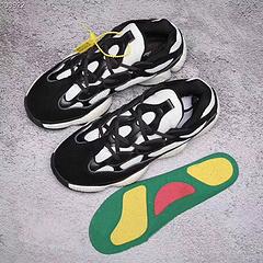 顶级版本 椰子500 阿迪达斯 椰子 500 X10版本 Adidas Yeezy500 Desert Rat 黑白 DB2988 36-45