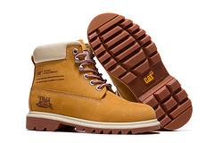 CAT/卡特女鞋高帮防水工装鞋 P306241C4C 金典黄色