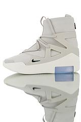 """AR4237-002男鞋出货,BC混卖品质,鞋面采用原厂牛巴革材质,恐惧之神联名Fear of God x Nike Fear of God 1高街气垫高筒运动篮球鞋""""皮革奶灰""""AR4237-002"""