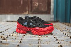 """水泡三代,四孔鞋眼版本到货!时装天才拉夫.西蒙Raf Simons x adidas Ozweego III 复古风慢跑潮搭鞋""""白棕黑""""BB6743"""