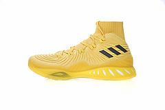 """真标真爆!Adidas Crazy Explosive Primeknit 疯狂维金斯17款实战室内篮球鞋系列""""高帮大黄蜂""""BY4472"""