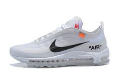 Nike x OFF WHITE Air Max 97 OFF-WHITE 联名 跑鞋 AJ4585-100/(8901款)