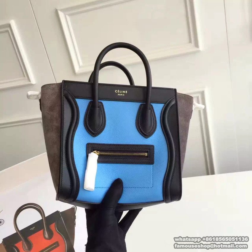Celine handbag luggage nano