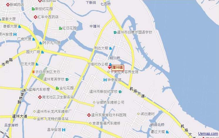 蒲州镇地理位置
