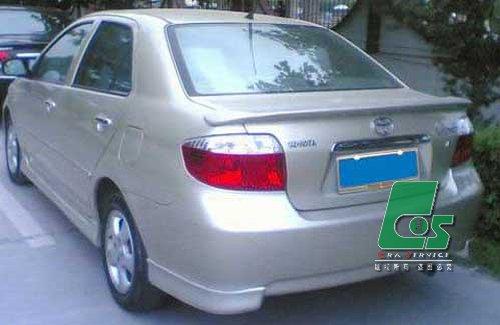丰田威驰包围 威驰小包围a款 威驰尾翼 威驰改装高清图片