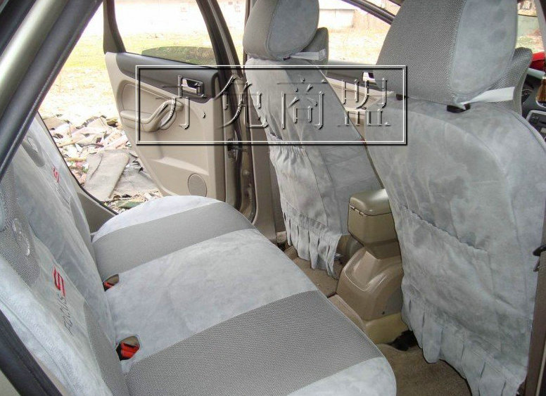 关于 马自达6专车专用座套 热卖麂皮绒座套 马6座套灰色 订做 的产品高清图片