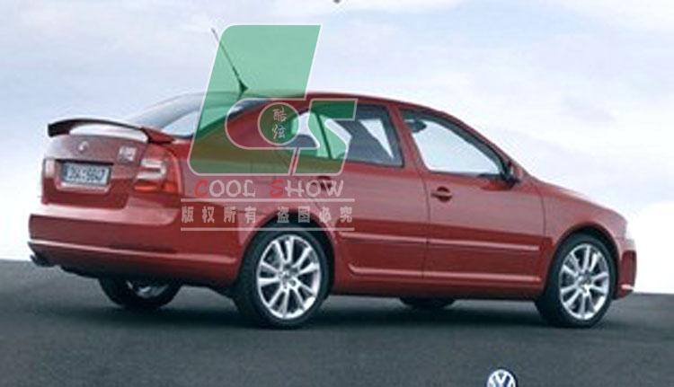 厂价直销 斯柯达明锐尾翼 ABS尾翼 汽车改装尾翼 定风翼 压翼特价高清图片