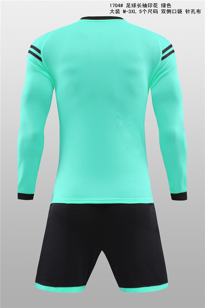 大装1704 足球长袖印花 绿色3.jpg