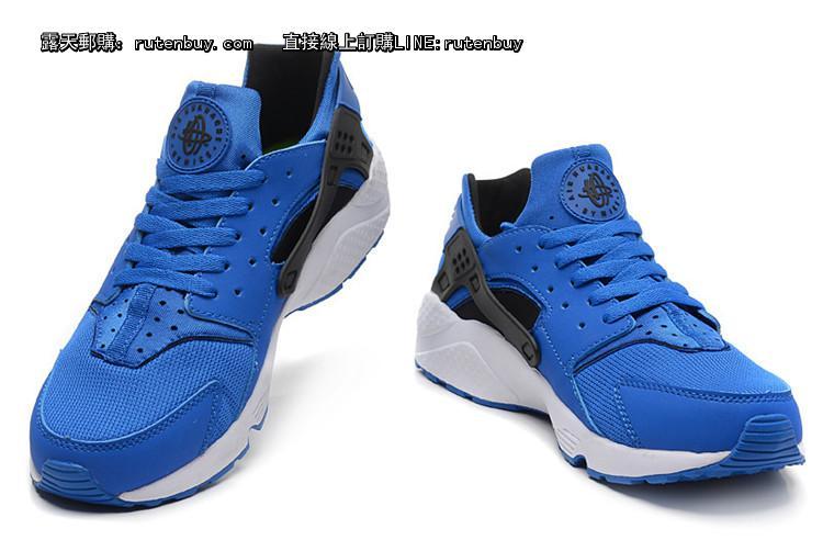 Nike Air huarache 耐克 华莱士 男鞋 蓝色 40 45