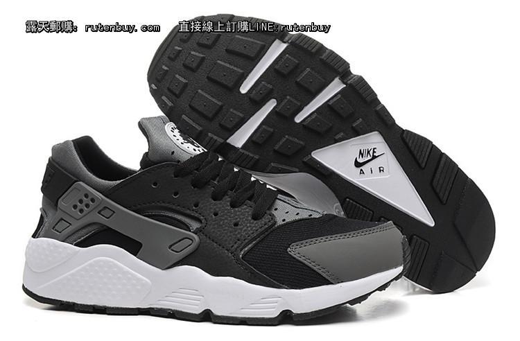 Nike Air huarache 耐克 华莱士 男鞋 灰黑白 40 45
