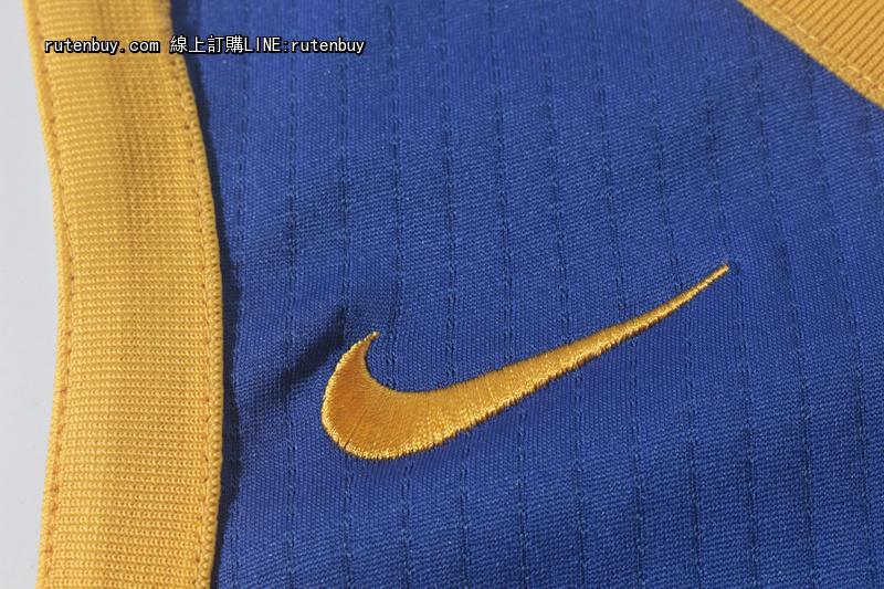 2017-2018赛季新款NIKE版勇士30号蓝色球衣3