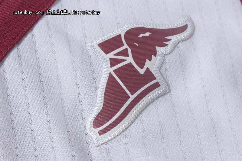 2017-2018赛季新款NIKE版骑士23号詹姆斯枣白色球衣2