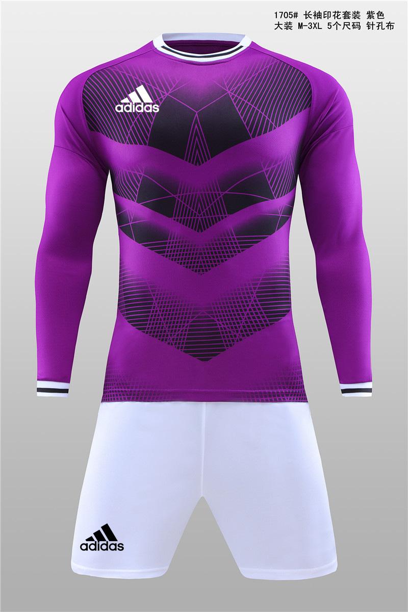 大装1705 长袖印花套装 紫色11.jpg