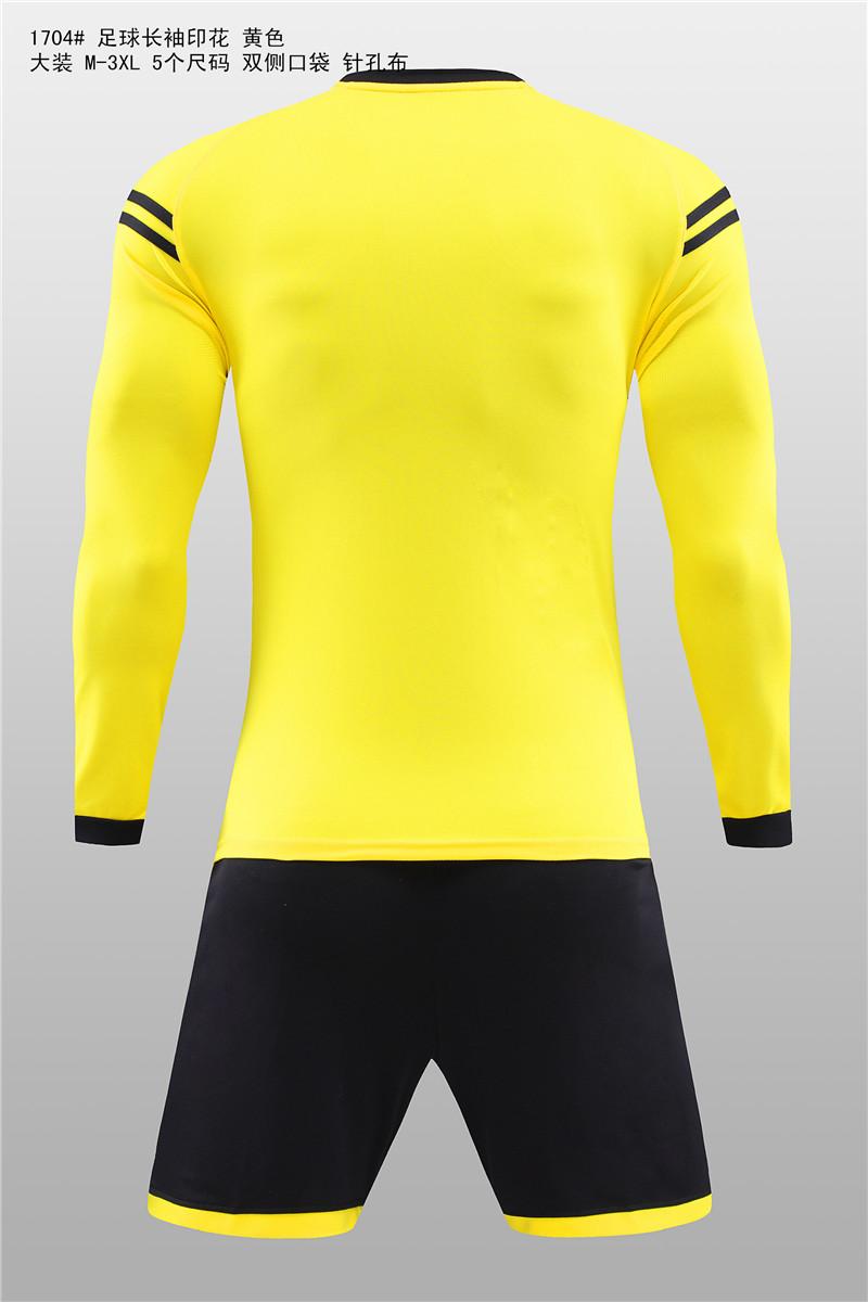 大装1704 足球长袖印花 黄色3.jpg