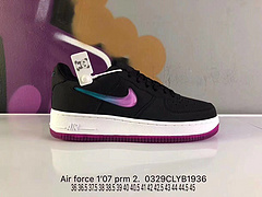 Nike Air Force 1 Low Premium AT4143-001 空军一号黑紫果冻