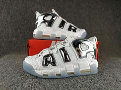 已出货 Nike Air More Uptempo 皮蓬 白金 36-45