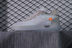 OFF-WHITE x Nike Air Force 1 LOW VIRGIL OW AF1空军AO4606-100 36-44