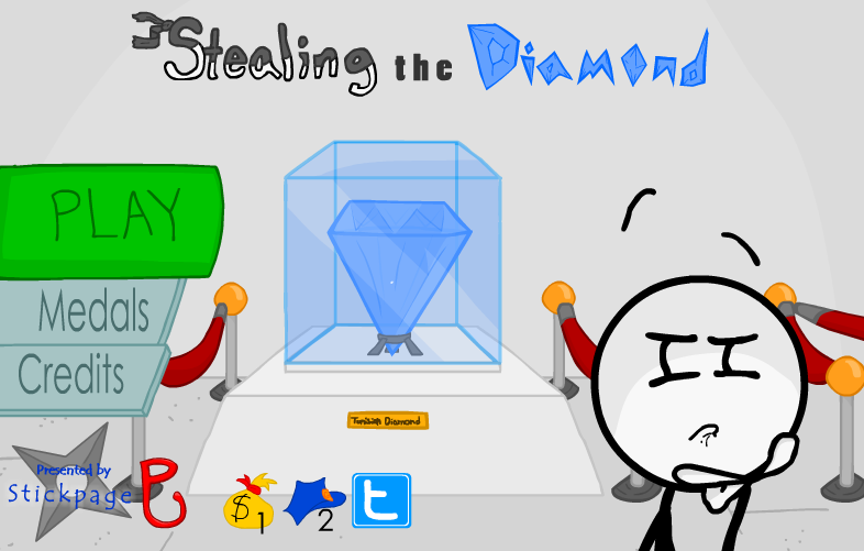 Stealing the dimmand_偷取宝石