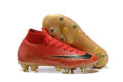 耐克刺客高帮十二代针织面Flyknit技术防水SG钢钉足球鞋NIKEMercurialSuperflyVIEliteSGProAC3945