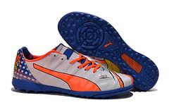 彪马草订PumaevoPOWER12PopTF钉足球鞋PumaevoPOWER12GraphicPopTFMensBootssizeeur3945