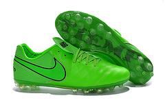 到货新款2016年NIKE传奇6代AG钉足球鞋NikeTiempoLegacyAGgreenblackredSIZE3945