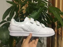 Adidas STAN SMITH 阿迪史密斯 魔术贴 白金 35--44