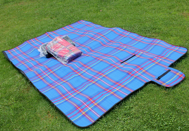 New waterproof suede picnic blanket rug mat for outdoor for Au maison picnic blanket