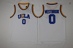 UCLA棕熊队0号白色威斯布鲁克