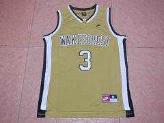 NCAA维克森林大学恶魔执行者3号保罗球衣